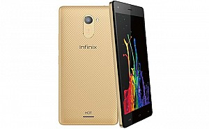 Infinix Hot 4 Lite Front, Back and Side