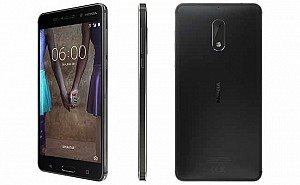Nokia 6 Matte Black Front, Back And Side