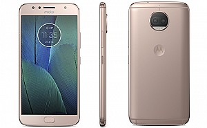 Motorola Moto G5S Plus Blush Gold Front, Back And Side