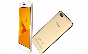 Panasonic P99 Champagne Gold Front,Back And Side
