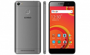 Comio P1 Metal Grey Front,Back And Side