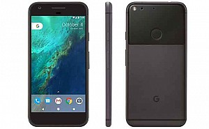 Google Pixel XL Quite Black Front, Back And Side