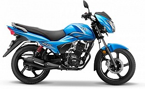 TVS Victor Blissful Blue