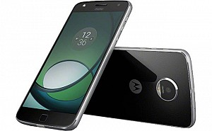 Motorola Moto Z Play Black Front, Back And Side