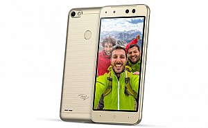 Itel S21 Champagne Gold Front,Back And Side