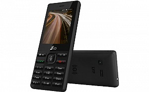 Jio Phone Black Front,Back And Side