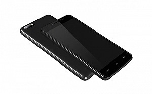 Micromax Bharat 5 Black Front,Back And Side