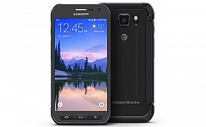 Samsung Galaxy S6 Active Grey Front and Back