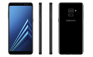 Samsung Galaxy A8+ (2018) Black Front,Back And Side