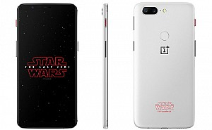 OnePlus 5t Star Wars Limited Edition Front, Back and Side