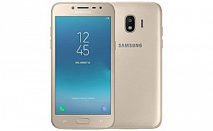 Samsung Galaxy J2 (2018) Gold Front And Back