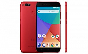 Xiaomi Mi A1 Red Front, Back And Side