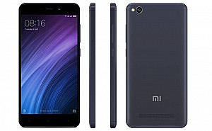 Xiaomi Redmi 4A Dark Gray Front,Back And Side