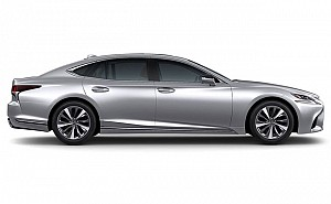 Lexus LS 500h Distinct Liquid Platinum