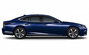 Lexus LS 500h Ultra Luxury Nightfall Mica