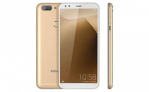 InFocus M7s Platinum Light Gold Front,Back And Side