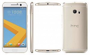 HTC 10 Topaz Gold Front,Back And Side