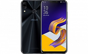 Asus ZenFone 5Z (ZS620KL) Midnight Blue Front And Back
