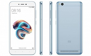 Xiaomi Redmi 5A Lake Blue Front,Back And Side