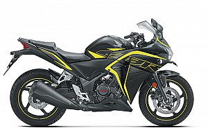 Honda CBR 250R ABS Matte Axis Gray Metallic with Striking Green