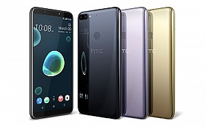 HTC Desire 12 Plus Front,Back And Side