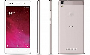 Lava Z80 Gold Front,Back And Side