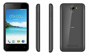 Lava A32 Black Front,Back And Side