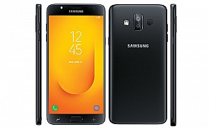 Samsung Galaxy J7 Duo Black Front,Back And Side