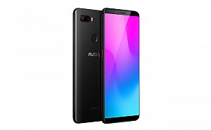 ZTE Nubia Z18 mini Black Front,Back And Side