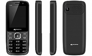 Micromax Bharat 1 (2018) Black Front,Back And Side