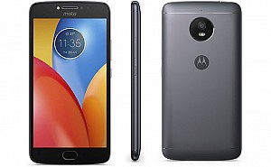 Motorola Moto E4 Plus Iron Grey Front,Back And Side