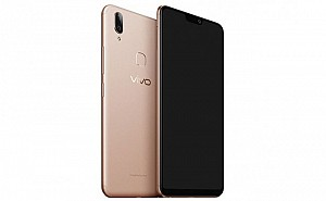Vivo V9 Youth Gold Front,Back And Side
