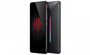 ZTE Nubia Red Magic Black Front, Back And Side