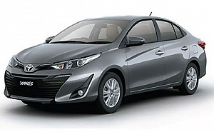 Toyota Yaris V Grey Metallic