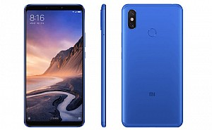 Xiaomi Mi Max 3 Front, Side and Back