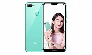 Huawei Honor 9N Back and Front