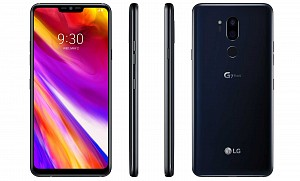 LG G7 Plus ThinQ Front, Side and Back