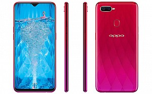 Oppo F9 Pro Front, Side and Back