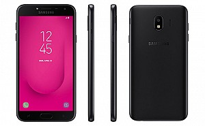 Samsung Galaxy J4 Front, Side and Back