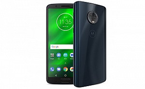 Motorola Moto G6 Plus Black, Front And Side