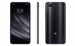 Xiaomi Mi 8 Youth Front, Side and Back
