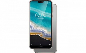 Nokia 7.1 Front, Side and Back