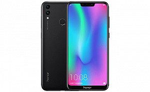 Honor 8C Front and Black