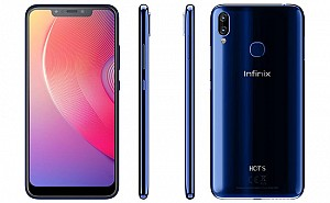 Infinix Hot S3X Front, Side and Back