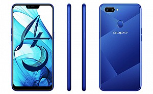 Oppo A5 Back, Side and Front