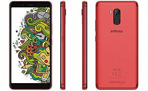 Infinix Note 5 Stylus Front, Side and Back