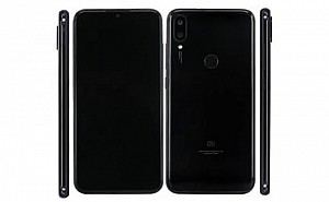 Xiaomi Redmi 7 Pro Front and Black