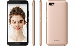 Gionee F205 Front, Side and Back