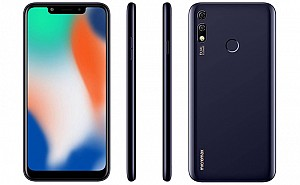 Micromax Infinity N12 Front, Side and Back
