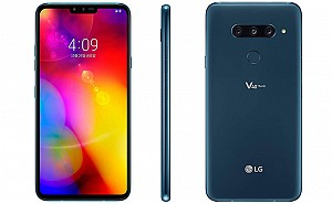 LG V40 ThinQ Front, Side and Back
